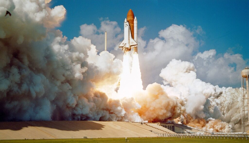 challenger space shuttle, launch, mission