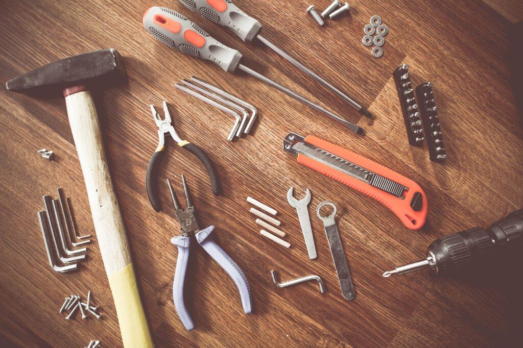 tools, construct, craft